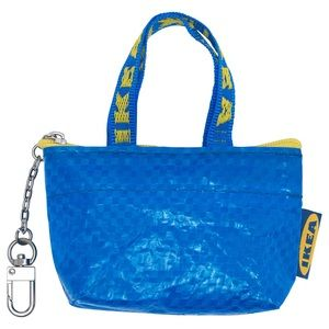 IKEA knolig keychain bag